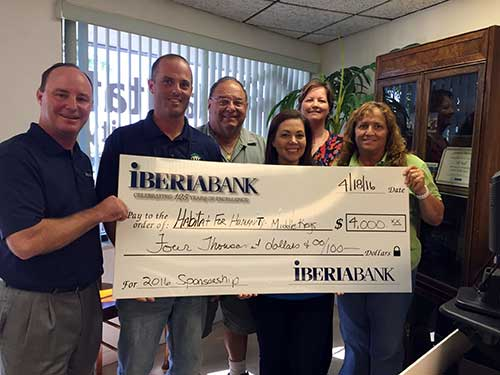 2016 Iberiabank Build Partner