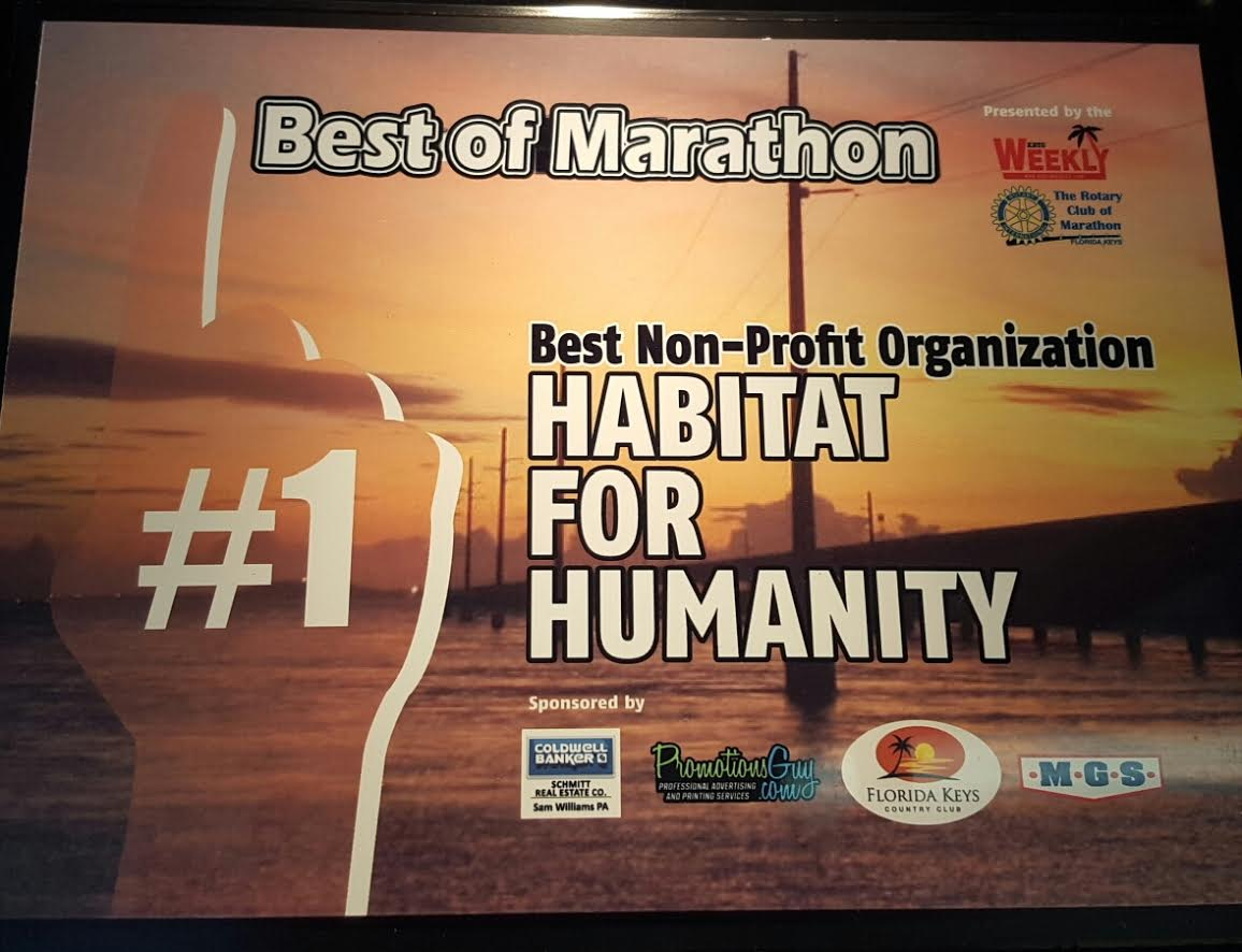 Best of Marathon 2016 Plaque