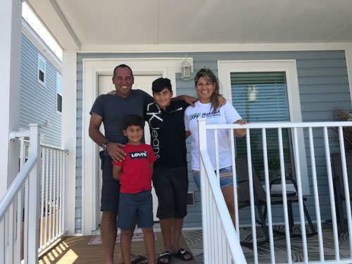 Welcome home Suarez-Diaz family!